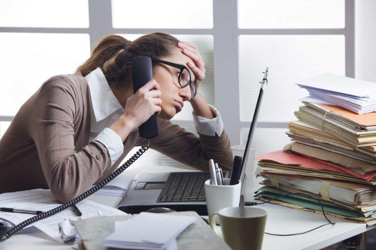 איך להפחית את הלחץ בעבודה?